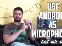 use android as microphone