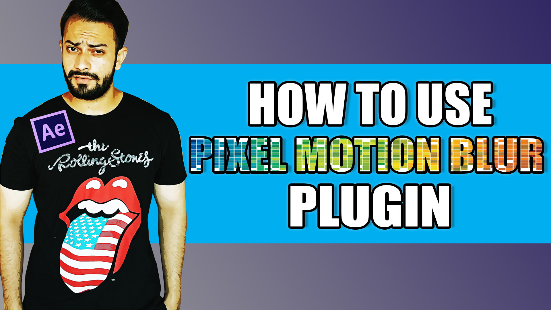 Pixel Motion Blur after effects