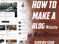 make wordpress website 2018