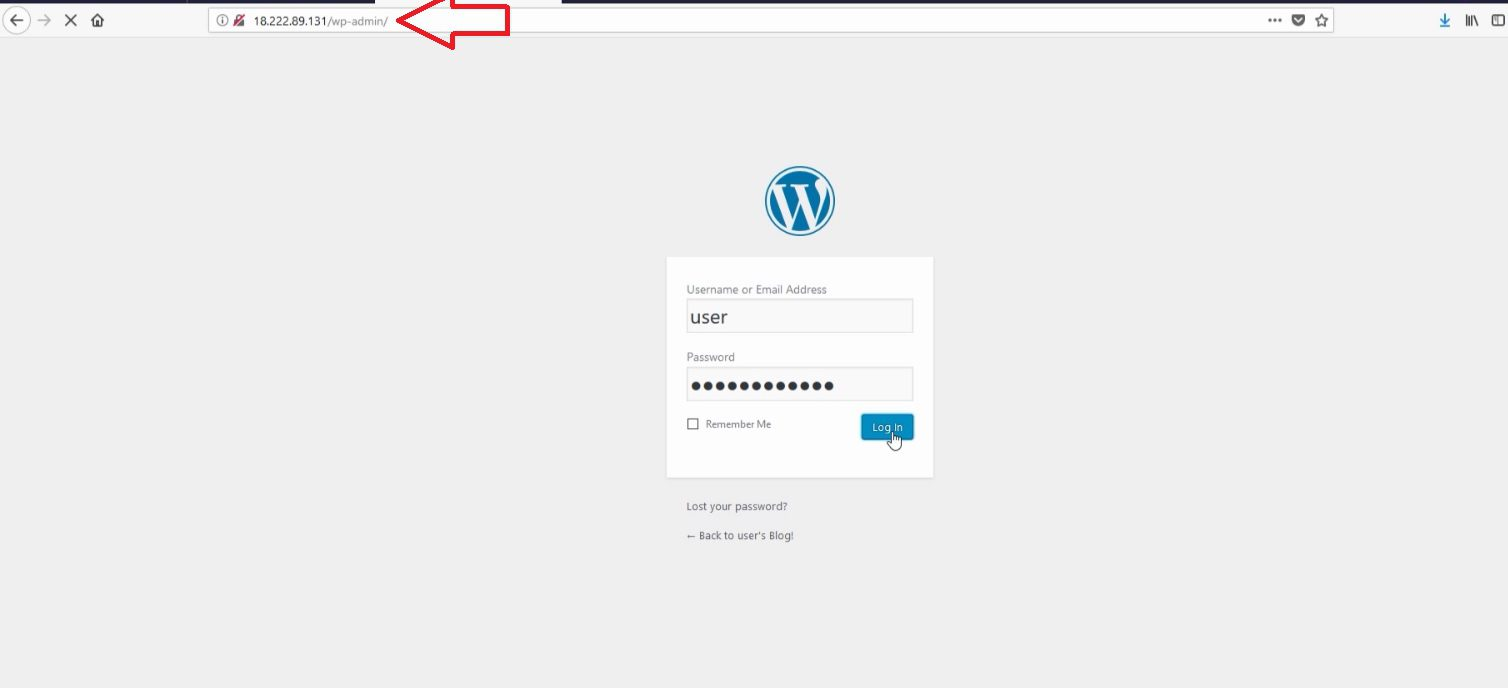 Install WordPress on AWS