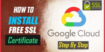 ssl certificate on google cloud platform