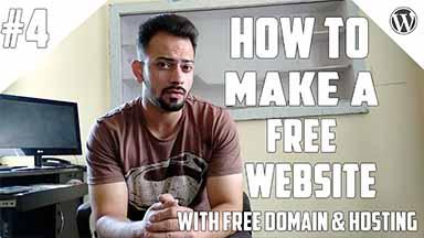 Make A Free Website