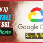 install free SSL certificate -bitnami wordpress-Google cloud platform - letsencrypt renew