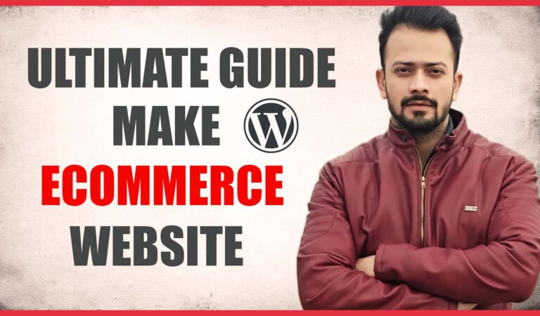 How To Create Ecommerce Website (Ultimate Guide)