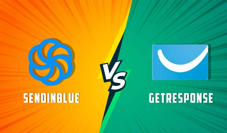 SendinBlue VS GetResponse! Which One To Choose? (Full Guide)